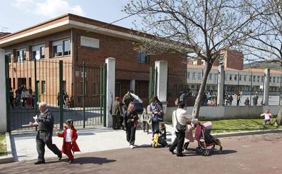 Las obras del muro del colegio Etxegarai de Basauri siguen sin fecha de inicio