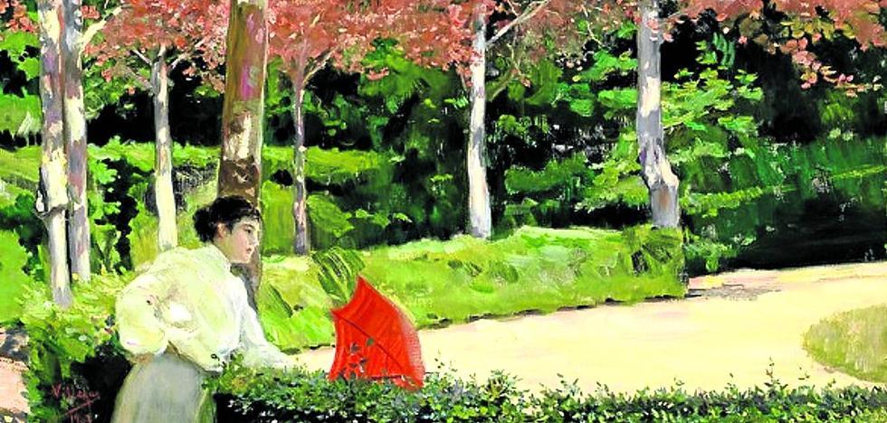 'Recuerdos de La Granja' en el Bellas Artes de Vitoria