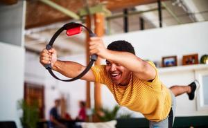 Así es 'Ring Fit Adventure' de Nintendo: deporte y videojuegos para toda la familia