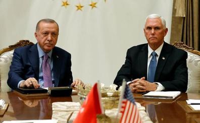 EE UU anuncia un acuerdo con Turquía para un alto el fuego en Siria