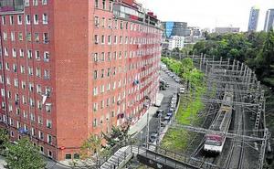 Bilbao Ría 2000 asumirá el soterramiento del tren en Olabeaga para construir 500 pisos