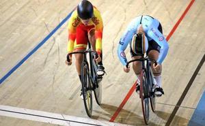 Tania Calvo cae en octavos de velocidad en pista en el europeo