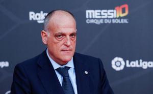 Tebas: «El clásico no puede ser el 18 de diciembre; hay Copa del Rey»
