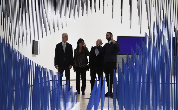 El universo cambiante de Jesús Rafael Soto, en el Guggenheim