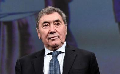 Eddy Merckx sale del hospital