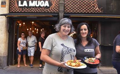 El rock no cesa en La Muga (Bilbao)