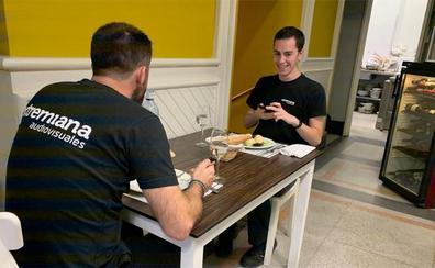 En Bilbao se come en mesas sin mantel