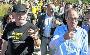 El PNV marca distancias con Ibarretxe y dice que fue a Cataluña «a título personal»