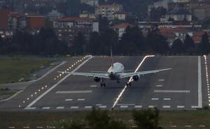 Cuatro vuelos cancelados entre Bilbao y Barcelona por la huelga independentista
