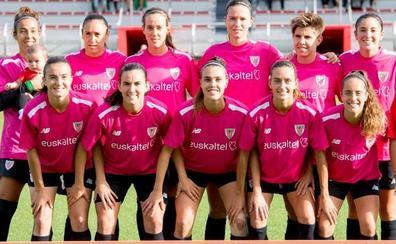 Las rojiblancas, de rosa por el cáncer de mama