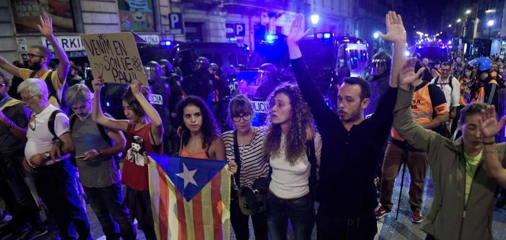 Calma en Barcelona después de cinco noches de disturbios