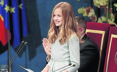 El compromiso de Leonor en su primer discurso oficial
