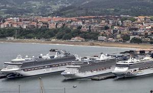 Un crucero con 2.147 pasajeros pondrá fin a la temporada en Getxo