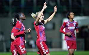 Ada Hegerberg iguala el récord de goles en la Champions