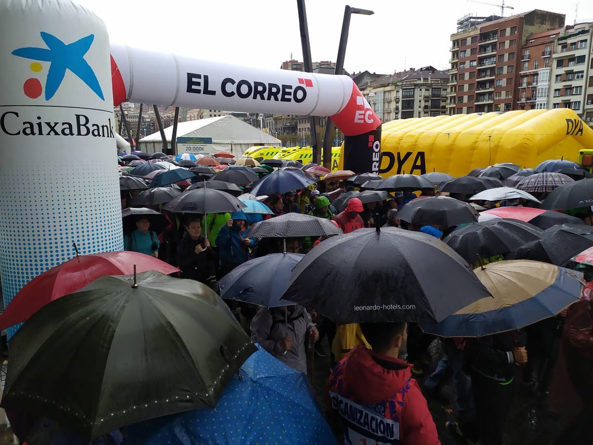 X Martxa Solidaria Subida Artxanda
