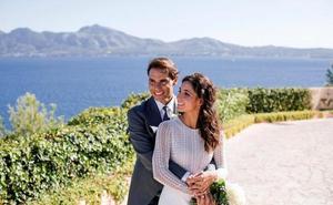 Rafa Nadal y Mery Perelló muestran las primeras fotos de su boda