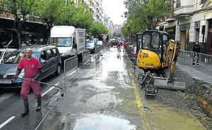 3.330 plazas menos de aparcamiento en la calle