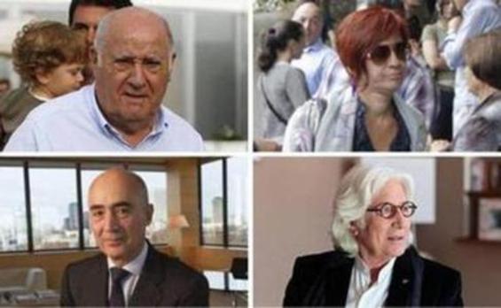 La lista de los más ricos de España