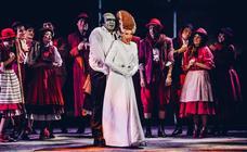 El musical 'El jovencito Frankenstein', en imágenes