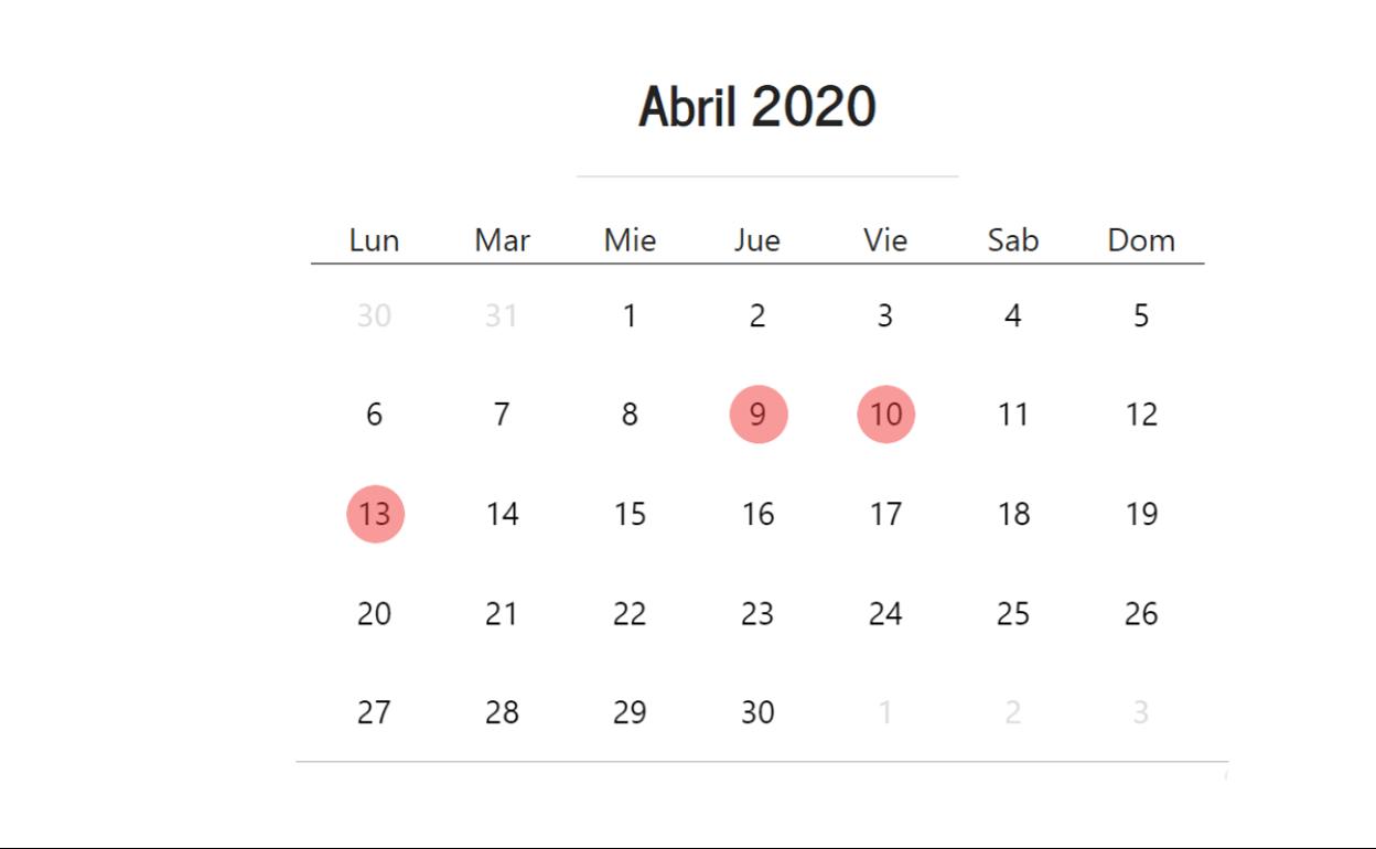 Cuándo Cae Semana Santa 2020 En España Fechas Del Macropuente El Correo