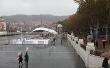 Bilbao se desliza por el 'hielo'