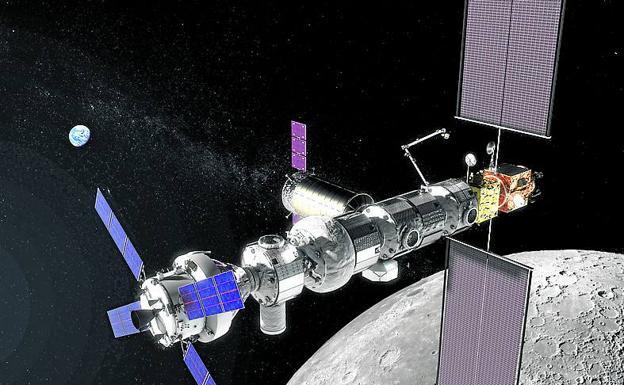 Europa Construirá Dos Módulos De La Estación Orbital Lunar
