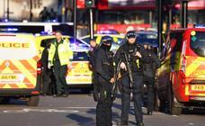 El atentado de Londres, en imágenes