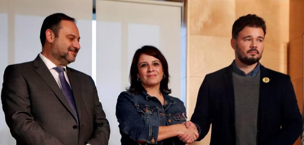 Sánchez apela a PP y Cs pero mantiene su plan de ser investido gracias a Esquerra