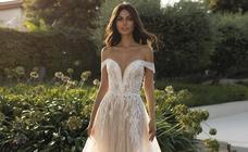 Los vestidos de novias para «diosas» de Alessandra Rinaudo