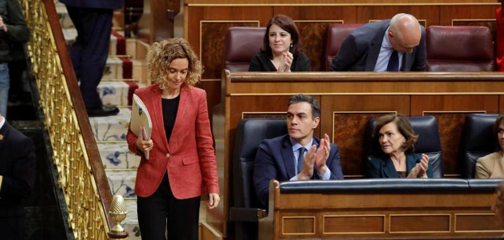 El PSOE prima retener la Vicepresidencia del Congreso sobre el «cordón» a Vox
