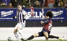 Reparto de puntos entre Osasuna y Valladolid