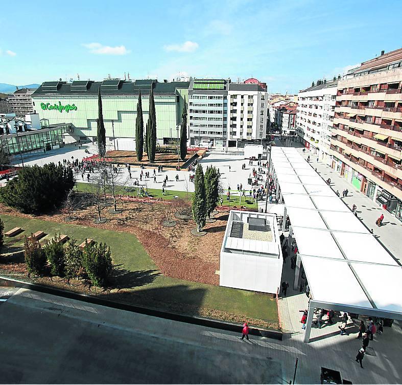 La plaza de Santa Bárbara tendrá limitadas sus actividades por la fragilidad de su estructura