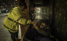 214 personas 'sin techo' sobreviven en las calles de Bilbao