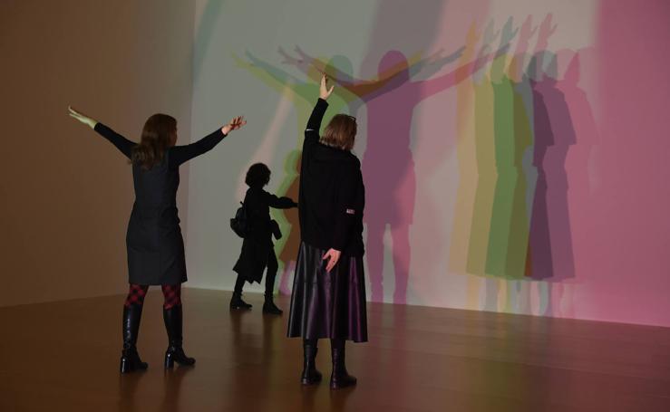 Olafur Eliasson expone su obra en el Guggenheim
