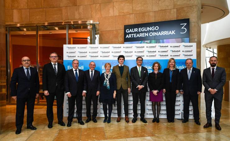 Mirilla de los premios Euskadi Avanza
