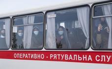 Se calma la situación en Ucrania tras los disturbios por la llegada de evacuados de Wuhan