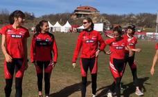 Así se prepara en Soria el BM Bilbao para el campeonato de España de cross por equipos