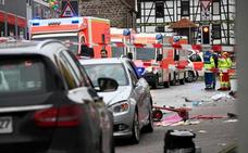 La policía alemana confirma la intencionalidad del atropello masivo durante un desfile de carnaval