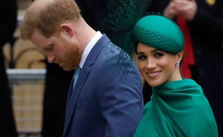 El príncipe Harry y Meghan se despiden de Reino Unido