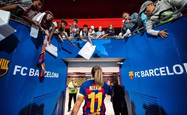 Alexia Putellas, la española a la que muchos ven como la próxima Balón de  Oro | El Correo