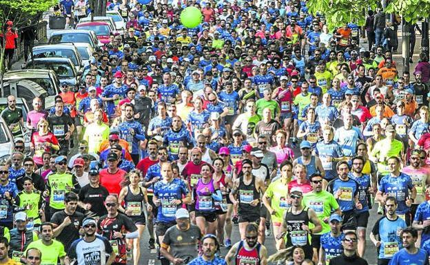 El Maratón Martín Fiz del 10 de mayo se aplaza sin fecha fija, aunque apunta a junio o julio