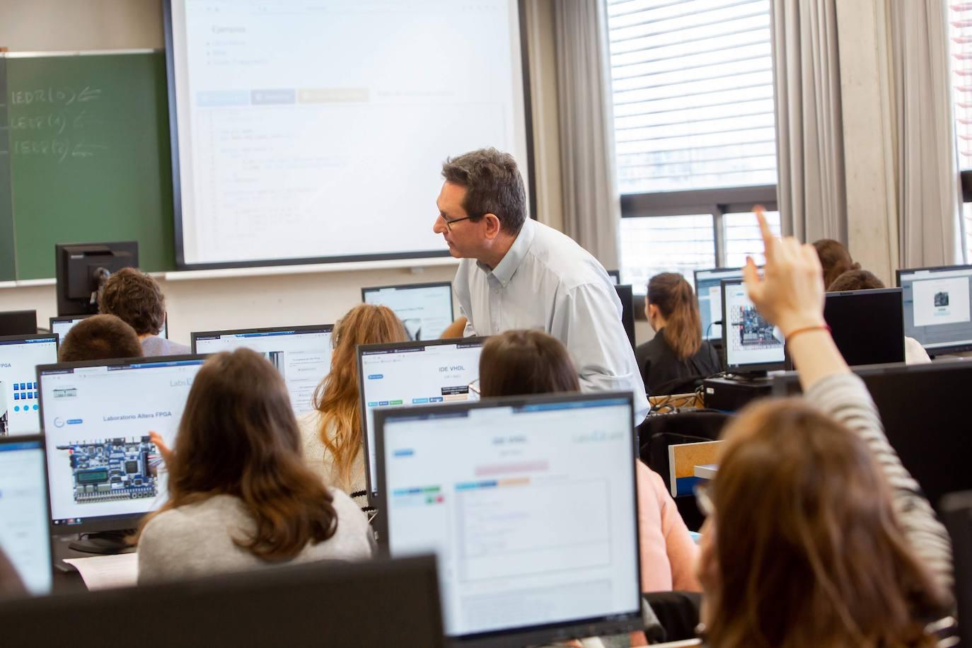 Un laboratorio virtual para continuar con las prácticas de colegios y universidades