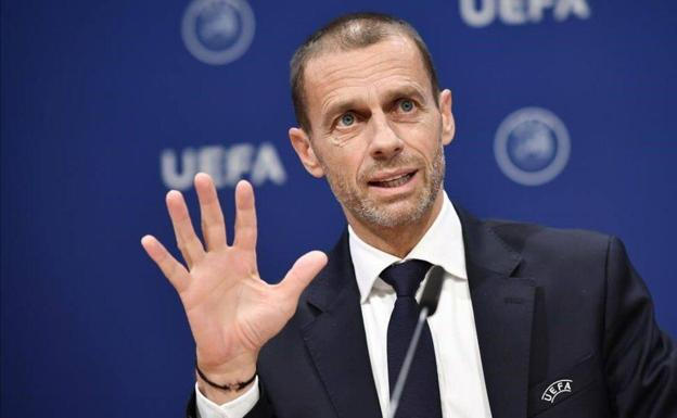 Aleksander Ceferin, UEFA President.