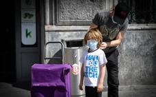 Seis millones de niños españoles podrán salir una hora diaria a la calle a partir del domingo