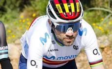 Valverde cuenta que es multado en su primera salida tras el confinamiento