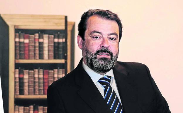 Javier Ormazabal, président du groupe Velatia, dans son bureau.