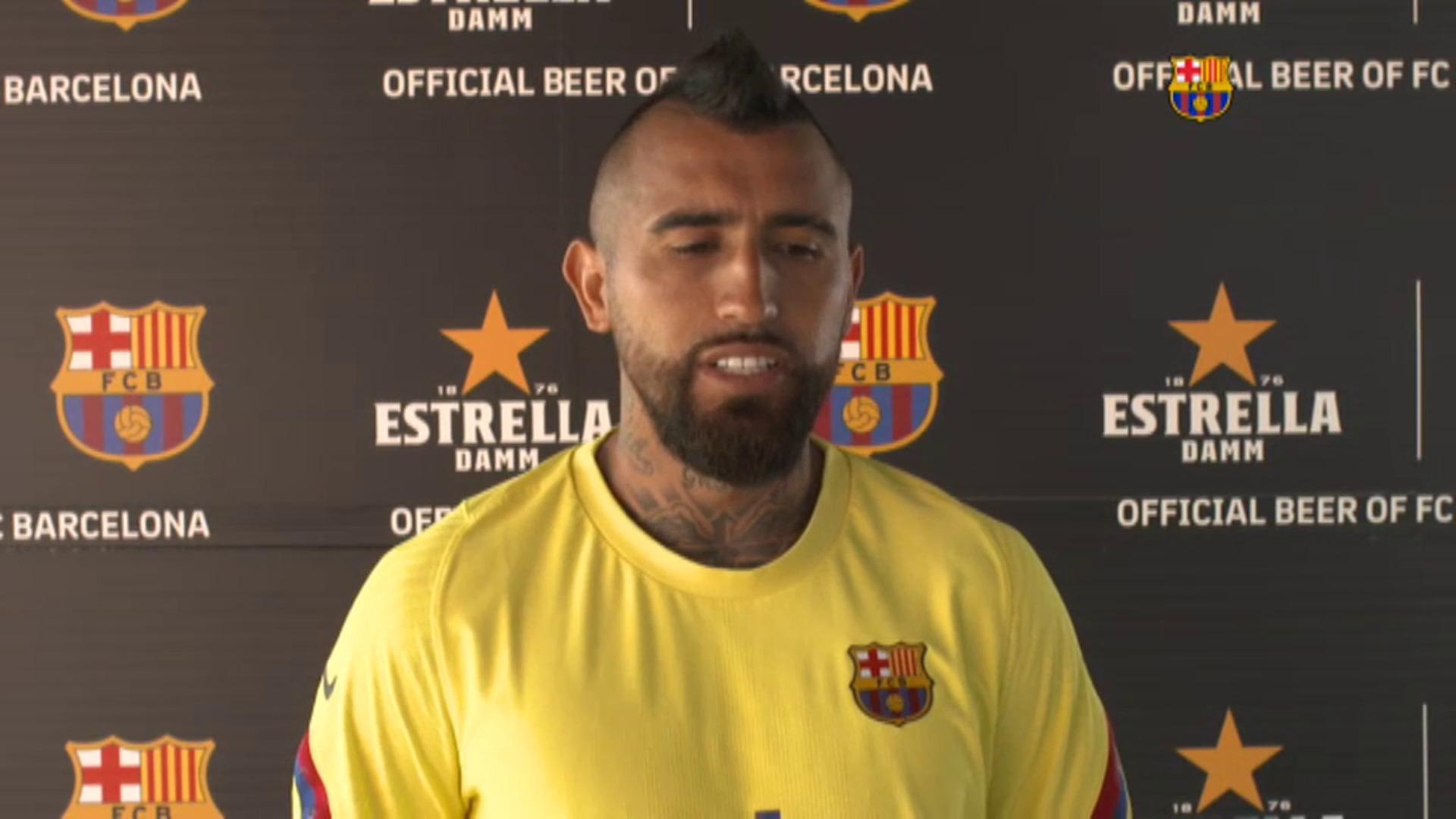 """Arturo Vidal: """"Quedan once partidos que van a ser once finales"""""""