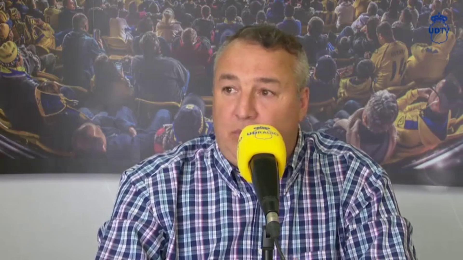 El presidente de Las Palmas dice que podría haber público en el partido ante el Girona del 13 de junio