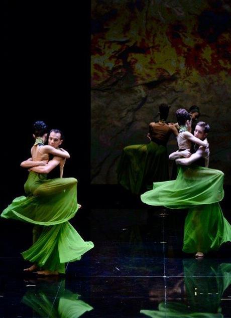 'Samson et Dalila', dans la production des théâtres de Metz et Massy.