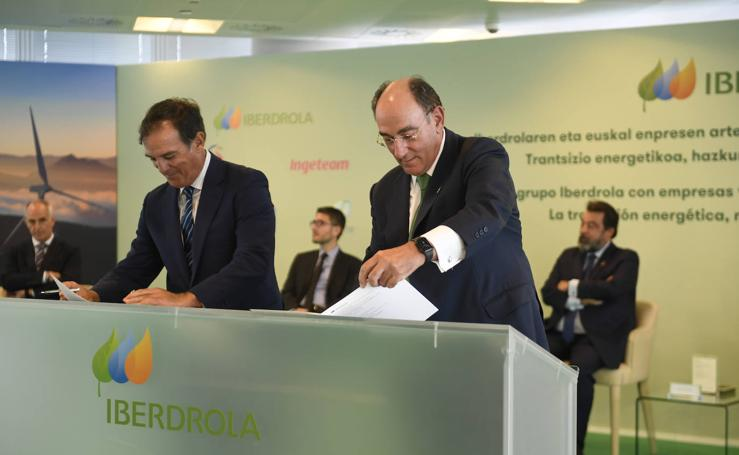El Grupo Iberdrola acelera sus inversiones con el acuerdo con otras cinco empresas vascas